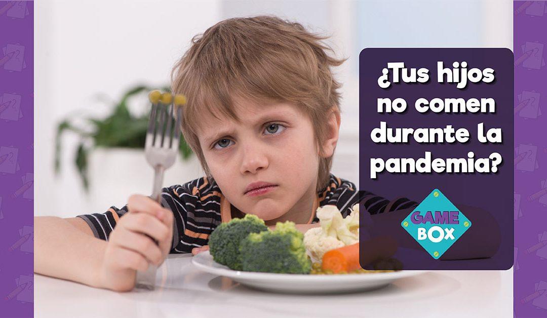 Tips para mejorar la alimentación de nuestros hijos durante la pandemia