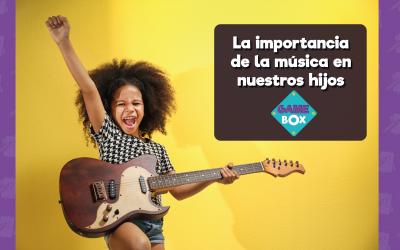 La importancia de la música en nuestros hijos