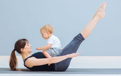 Beneficios de practicar Yoga con tu bebé
